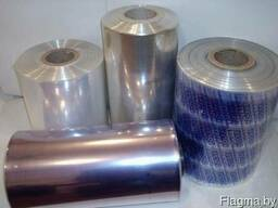 Плёнка ПВХ термоусадочная 250,300,350,400мм х 750м,15мкм