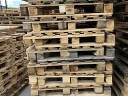 Поддон деревянный б/у 1000*1200