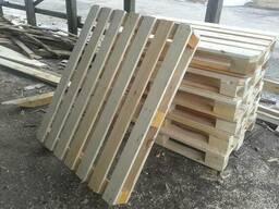 Поддон деревянный облегчённый 1000х1200