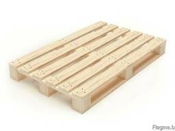Поддоны деревянные 1200х800х144 мм