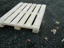Поддоны деревянные б/у 800х1200х144мм и новые