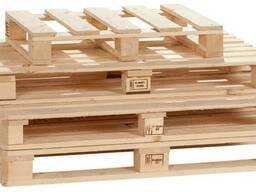 Поддоны деревянные новые и б/у
