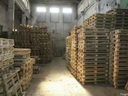 Поддоны деревянные новые и б/у экспорт