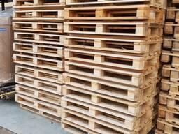 Поддоны деревянные новые IPPC и б/у