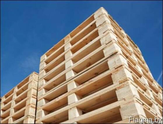 Поддоны деревянные / паллеты / ящики