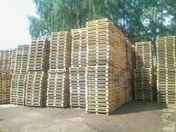 Поддоны деревянные в Минске
