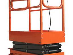 Подъемник ножничный передвижной полуэлектрический  TOR GTJY 320 кг 12 м (автономный)