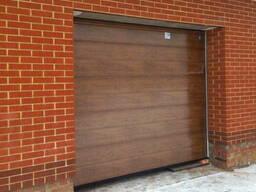 Подъемные секционные для гаража