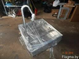 Подиум,тумба для аквариума из нержавеющей стали на колесах