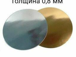 Подложка для торта золото 150 мм