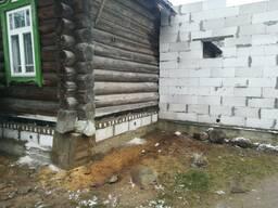 Поднятие домов, реконструкция