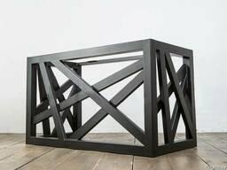 Подстолья из металла, опоры под столы, доставка по РБ