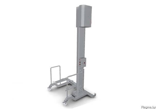 Подъёмник мачтовый стационарный, опрокидыватель тележек