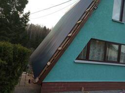 Покраска крыш, фасадов