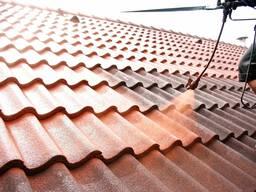 Мойка и покраска крыши