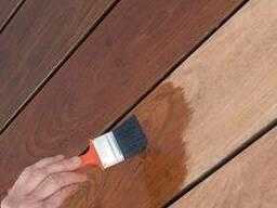 Покраска срубов, деревянных домов и бань