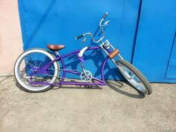 Покраска велосипедов. Пескоструйная обработка рамы. Сварочны