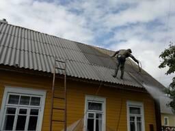 Покраска всех типов деревянных домов в Новогрудке. М