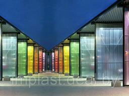 Поликарбонат Сотовый 4мм ,6мм ,8мм,10 мм. Цветной и. ..