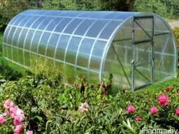 Сотовый поликарбонат для теплиц, навес 4мм,6мм,8мм,10мм,16мм.
