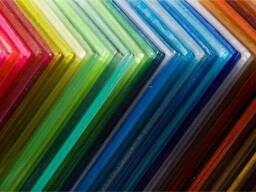 Поликарбонат цветной. Все размер и цвета.