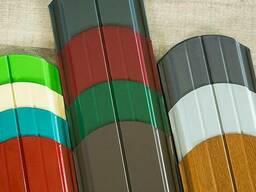 Полимерная порошковая покраска металлоштакетника
