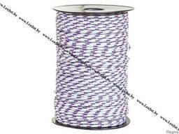 Полипропиленовый плетеный шнур 4мм. Катушка 100м.