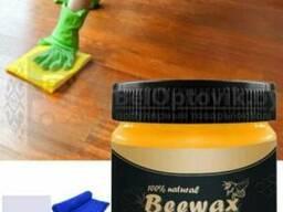 Полироль для деревянной мебели (древесины) Beewax на пчелином воске, 80 гр.