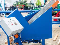 Полуавтоматический торцовочный станок МТС-500 для заготовок под лучину