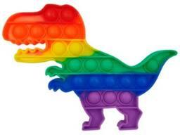 Поп ит (Pop it) разноцветный Динозавр