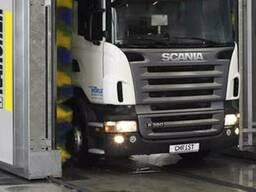 Мойка грузовых машин, прицепов и полуприцепов. Химчистка.