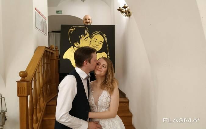 Шоу золотая пыль на выпускной, корпоратив, свадьбу, юбилей
