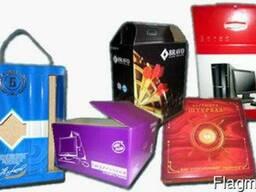 Послепечатные услуги и производство картонной упаковки