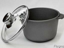 Посуда алюминиевая литая с антипригарным покрытием оптом