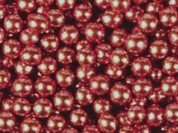 Посыпка шарики Хром красные 5 мм, 50 г