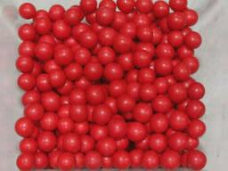 Посыпка шарики красные 5 мм, 50 г