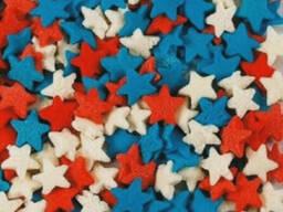 Посыпка Звезды разноцветные 50 г