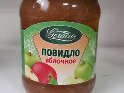 Повидло яблочное ГОСТ 0,45л. /580гр.