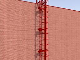 Пожарные и эвакуационные лестницы