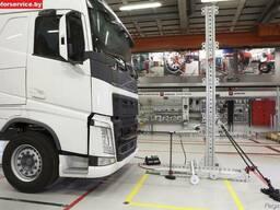 Правка рам грузового транспорта и спецтехники