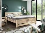 Предлагаем кровати из массива дуба в скандинавском стиле - фото 4