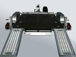 Прицеп автовоз 4х2м 3. 5т 2осный новый