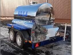 Прицеп цистерна на 1100л для питьевой воды (сцепка для джипов и груз авто)