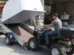 Прицеп легковой AvtoS 4х1.5м 750кг, новый
