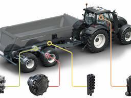 Полный привод на тракторные прицепы