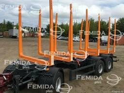 Прицеп лесовоз сортиментовоз МАЗ-892620-022