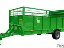 Прицеп тракторный для перевозки скота ( полуприцеп скотовоз)
