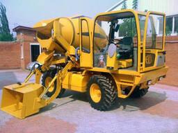 Приготовление бетона на стройплощадке Fiori DB 460 CBV