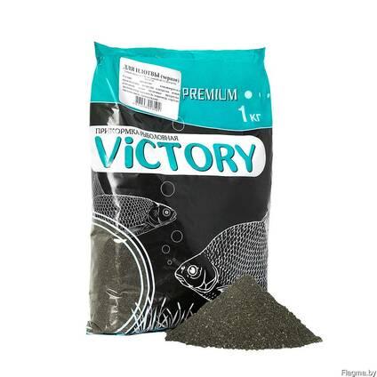Прикормка рыболовная victory для плотвы (чёрная)