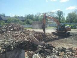 Принимаем строительные отходы для переработки (бетон, ж/бето